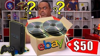 I Paid $50 for 40 Mystery PS2 Games on eBay!