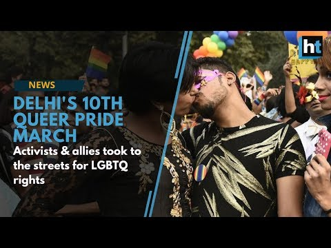 Delhi Pride March 2017: Activists & Allies Take To Streets For LGBTQ Rights