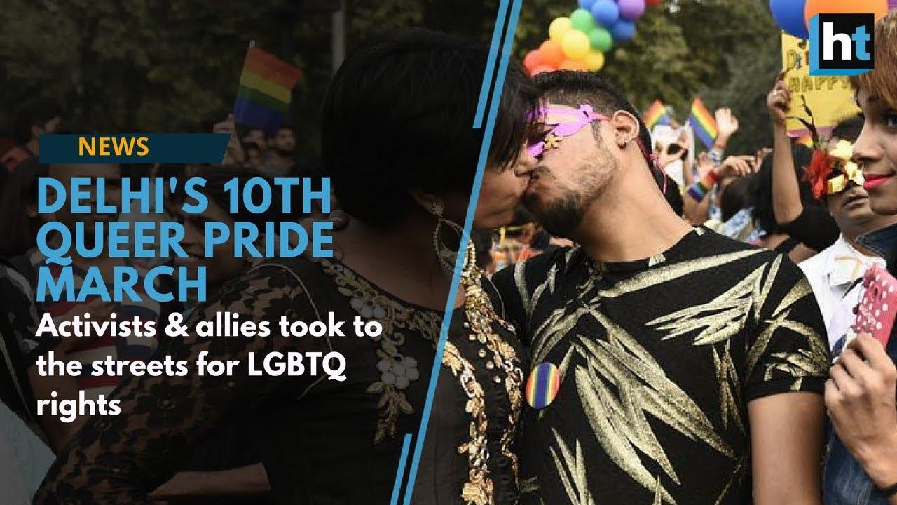 e6912c6b3f5e Delhi Pride March 2017  Activists   allies take to streets for LGBTQ rights