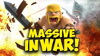 Clash of Clans | MASSIVE WAR #242 - Holland Bloed!