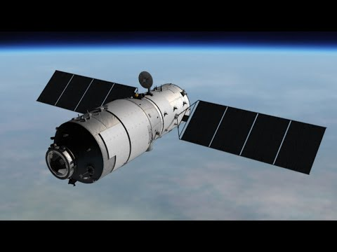 Chinese Space Station Reenters Atmosphere Over Pacific Ocean