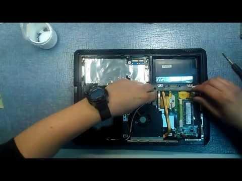 Как разобрать ноутбук ASUS K40, K50, K70 (ASUS K40, K50, K70 Disassembly)