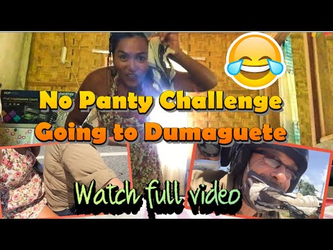 """Download The """"No Panty Challenge"""" Going to DUMAGUETE! WatchFullVideo  MORENA KAYE"""