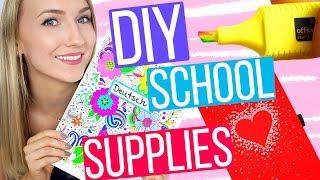 4 SUPER EASY SCHOOL DIY