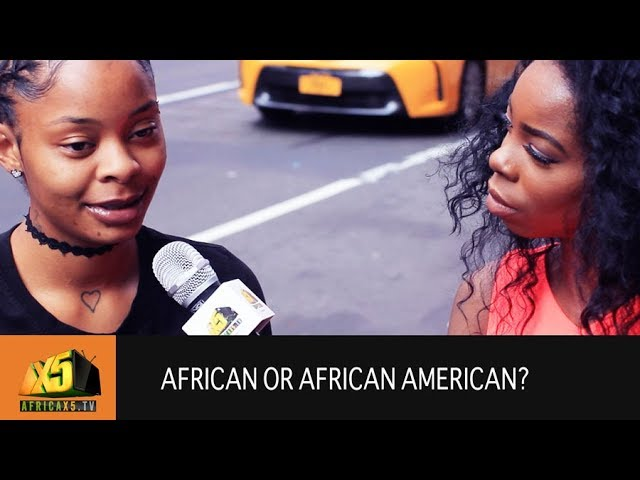Are you African or African American? Times Square NYC