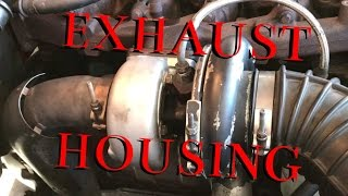 exhaust housing upgrade h1c turbo