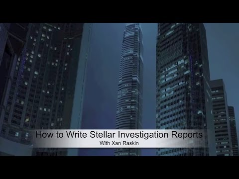 How To Write Investigation Reports | i-Sight
