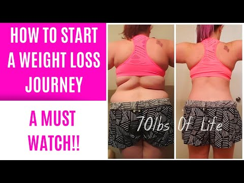 How To Start A Weight Loss Journey In 4 Steps | You Need To Watch This
