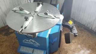 Шиномонтажное оборудование Trommelberg 1885 с третьей рукой + Сивик Alpha Luxe(, 2017-02-12T06:07:32.000Z)