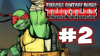 TMNT: Mutants in Manhattan - Part 2 - Rocksteady! Gameplay Walkthrough