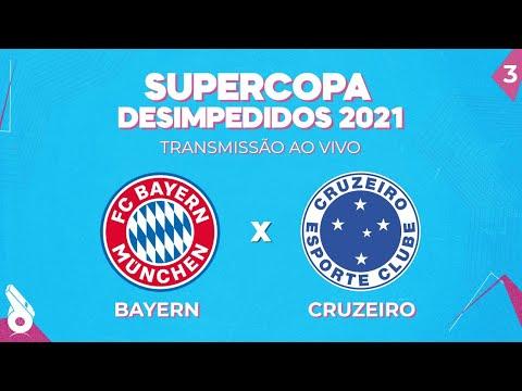 SUPERCOPA 2021 AO VIVO: BAYERN DE MUNIQUE X CRUZEIRO