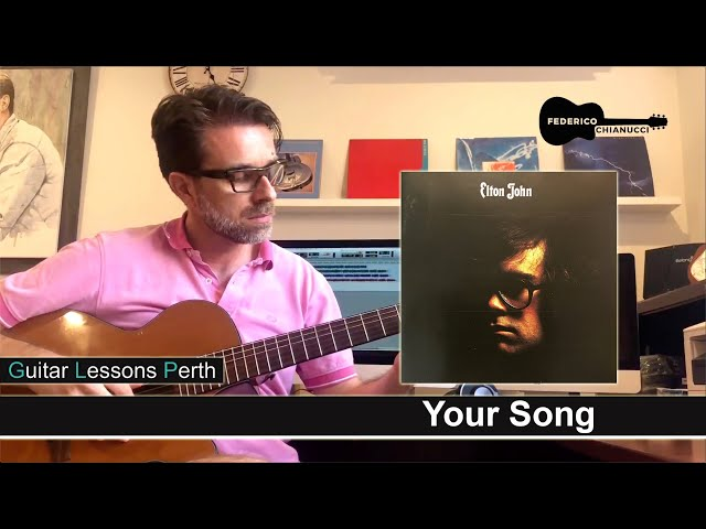 Your Song - Fingerstyle cover - Federico Chianucci