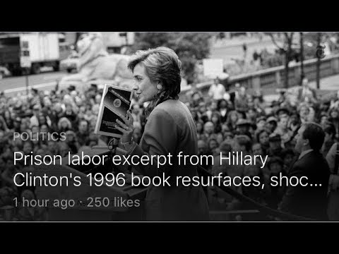 Hillary Clinton Used Prison Labor At Mansion? Trending Twitter Story! Why TV Didn