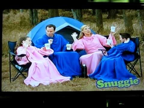 Hilarious Snuggie Commercial - YouTube