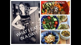 WHAT I EAT IN A DAY- VEGAN MEDITERRANEAN EDITION!