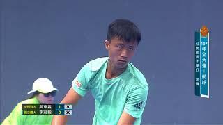 107全大運::網球::公開男子組單打金牌戰::中州科大 吳東霖/國立體大 李冠毅