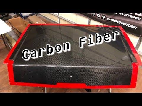 How to build a carbon fiber part. Timelapse