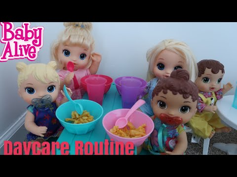 BABY ALIVE Daycare Routine baby alive videos