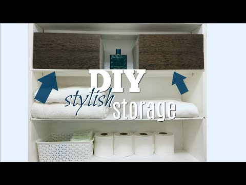DIY Stylish Storage Boxes | Dollar Store HACK!