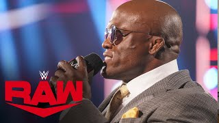 Bobby Lashley and MVP issue a warning for Goldberg and his son: Raw, Aug. 9, 2021