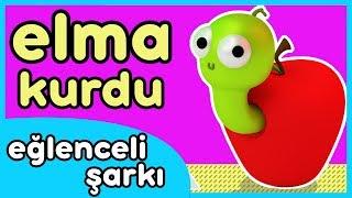 Ben Bir Elma Kurduyum Kıvrıla Kıvrıla Gezerim - Eğlenceli Bebek Şarkısı
