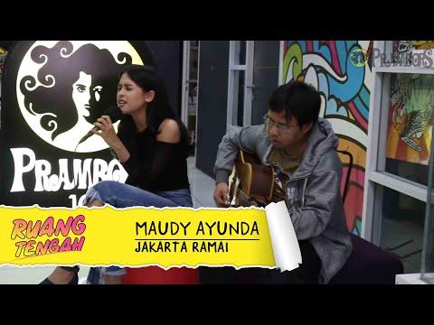 Maudy Ayunda - Jakarta Ramai (LIVE) at Ruang Tengah Prambors