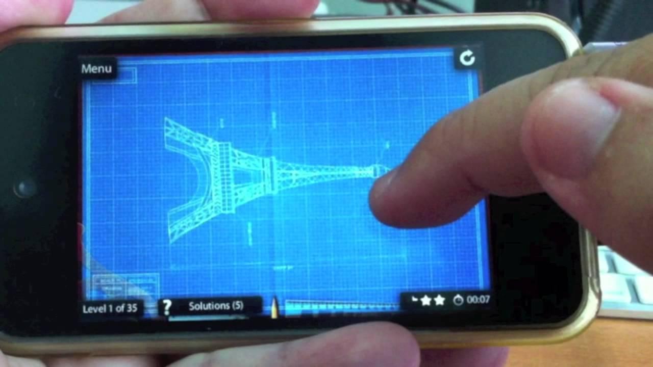 Blueprint 3d amazing 3d motion puzzle game iphone app review blueprint 3d amazing 3d motion puzzle game iphone app review malvernweather Gallery