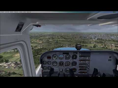 My Fsx Flight  Landing At Lille Airport