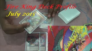 Yu-Gi-Oh! Fire King Deck Profile July 2015