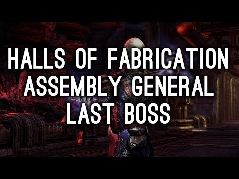 Assembly General, Halls of Fabrication - Morrowind ESO