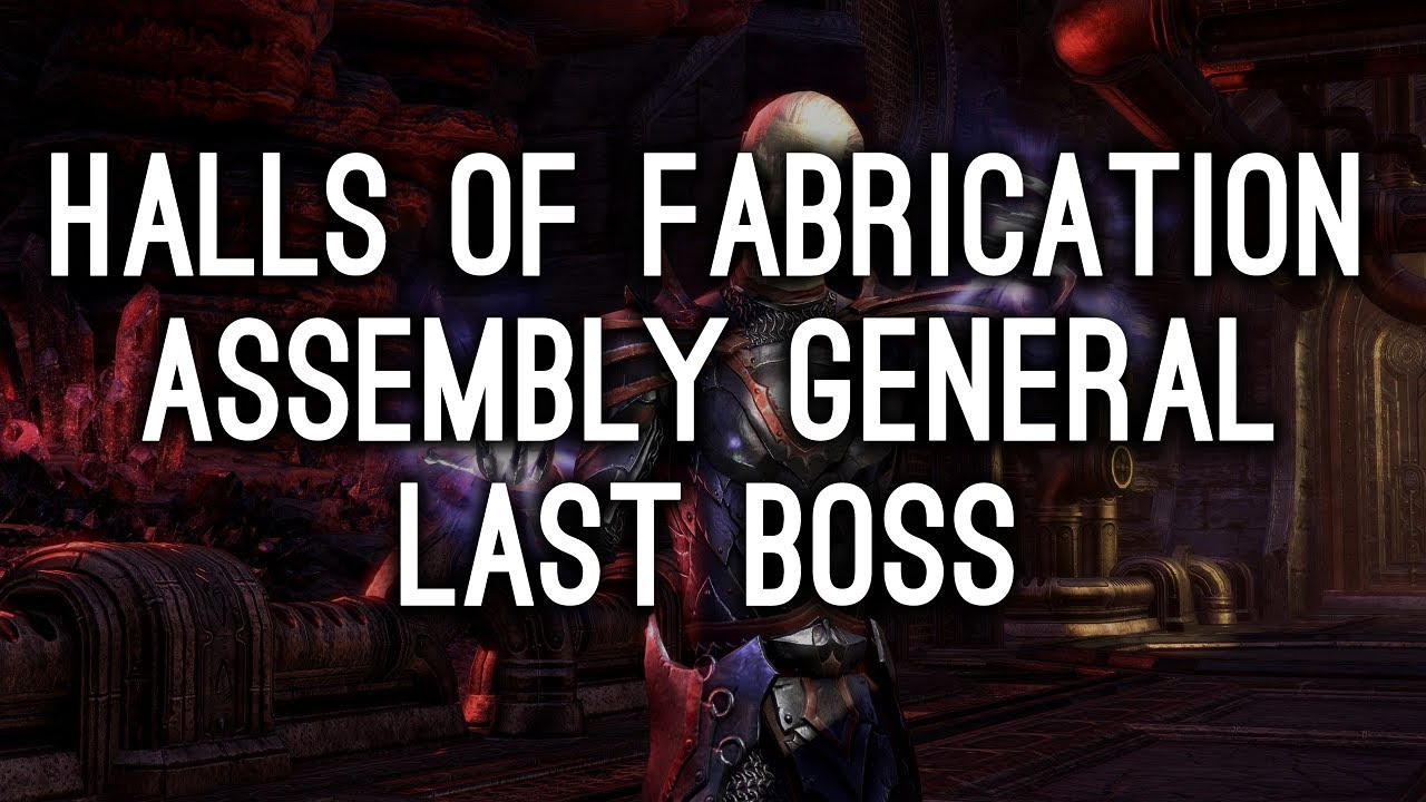 Halls of Fabrication Guide for Elder Scrolls Online - AlcastHQ