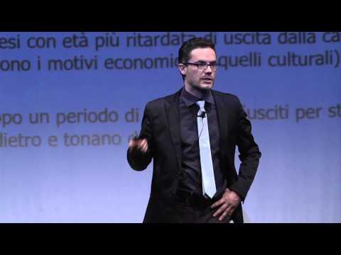 Perché l'Italia è un paese per giovani: Alessandro Rosina at TEDxIED