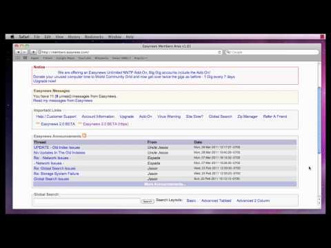 Customizing Easynews Usenet - Part 1 of 4 - General Settings