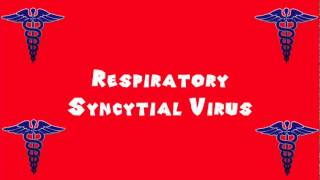 Pronounce Medical Words ― Respiratory Syncytial Virus