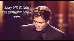 Happy 54th Birthday John Christopher Depp II.