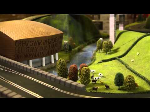 Tour the South West with awesome Scalextric train set