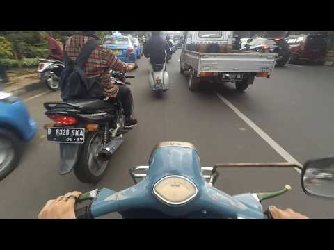 Mighty Rombeng - Vespa Super 150 - Original From The Factory