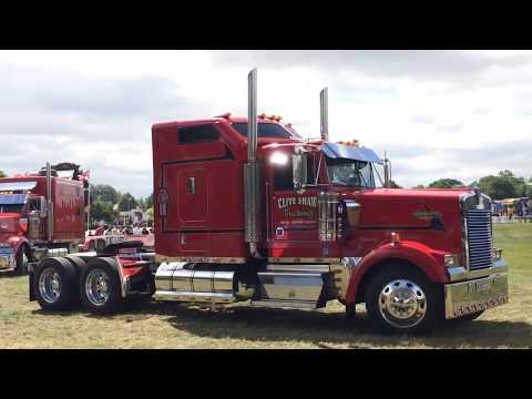 Truckfest 2017 SW & Wales UK. American And European Trucks HD