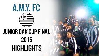 AMY FC Reserves - Junior Oak Cup Final 2015