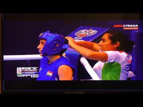 Улан-Удэ ФСК 11 чемпионат мира по боксу среди женщин ч.10 08.10.2019 г