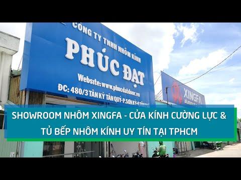 Showroom Nhôm Kính Phúc Đạt Tại Tân Phú, TpHCM