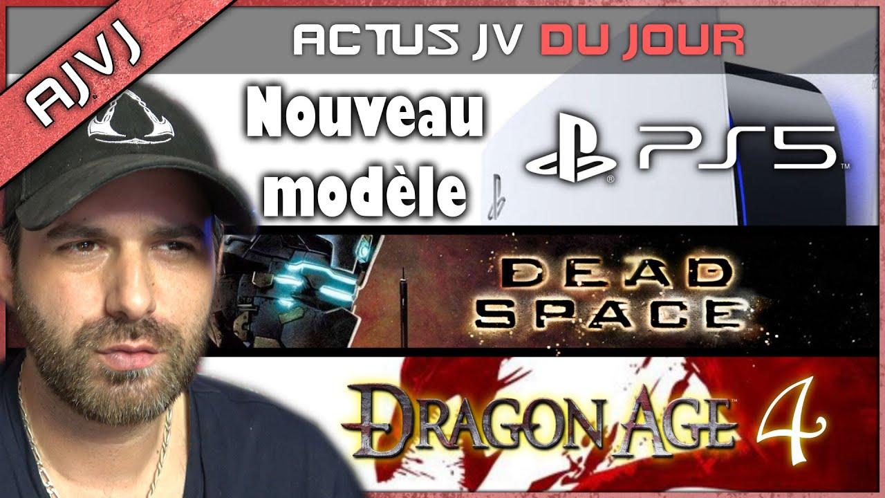 """Un """"nouveau"""" modèle de PS5 ! DRAGON AGE 4 en 2023 ! Toutes les infos DEAD SPACE REMAKE et BF 2042,.."""