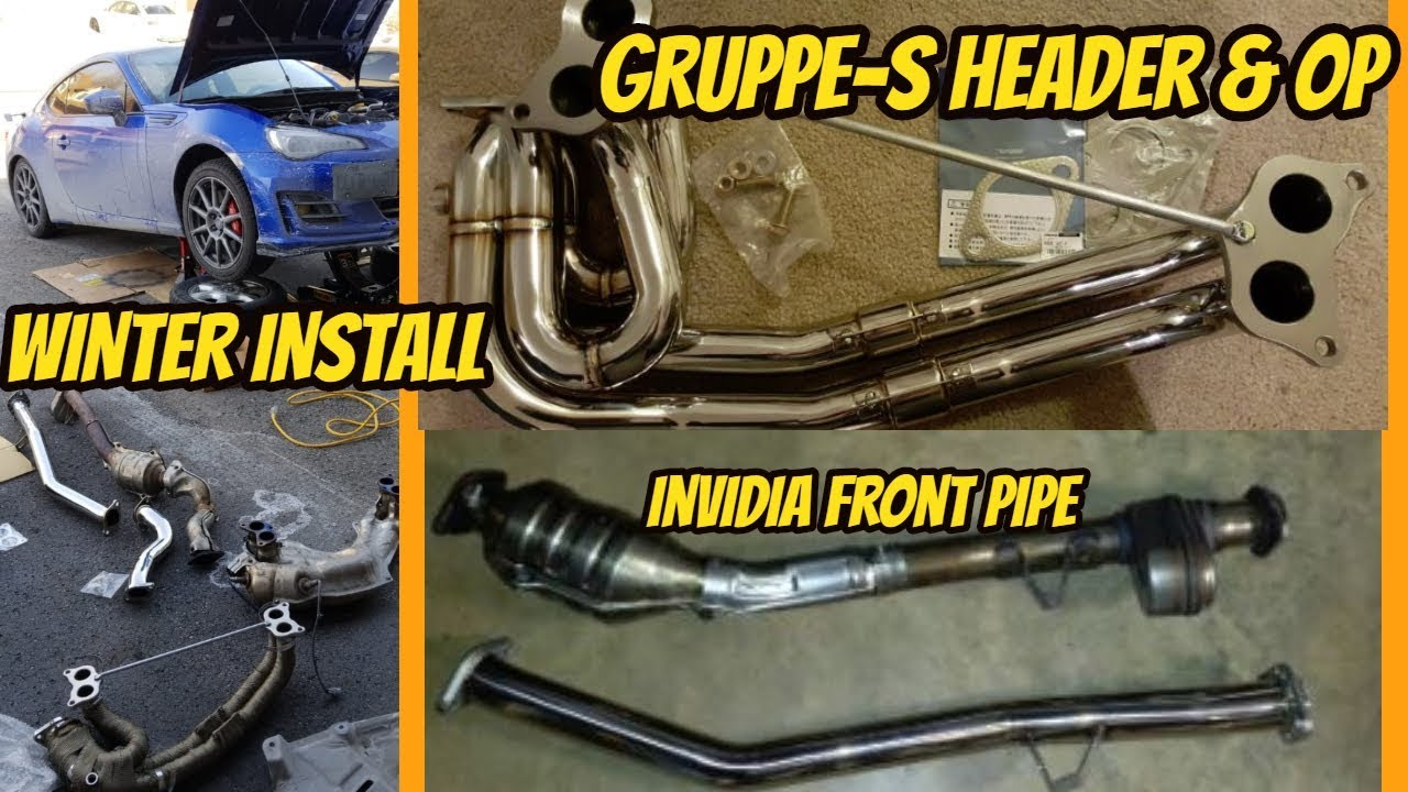 CATLESS Header & Over Pipe & Non-resonated Front pipe + BURBLE tune! | 2018  BRZ