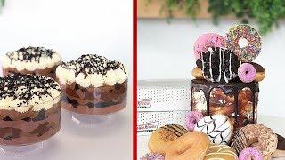 How To Make chocolate Cake Decorating Video - Easy Dessert Recipes - Chocolate Cake Hacks