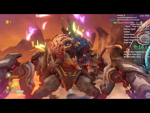 Doom Eternal in 39:50 (Capped/World Record)