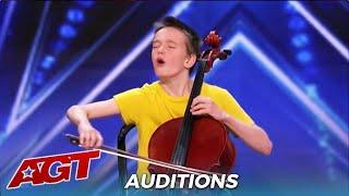 Elijah De La Matte: Teen Cello Player SLAYS Ariana Grande and Simon Tells Him To FIRE His Parents!