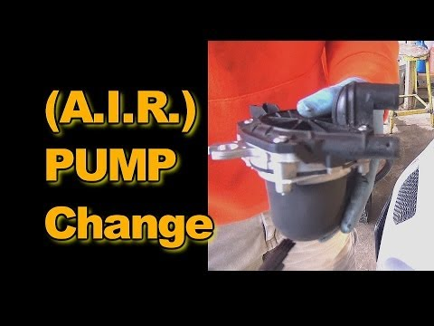 AIR Injection Reaction Pump replacement:2006 Pontiac Grand Prix