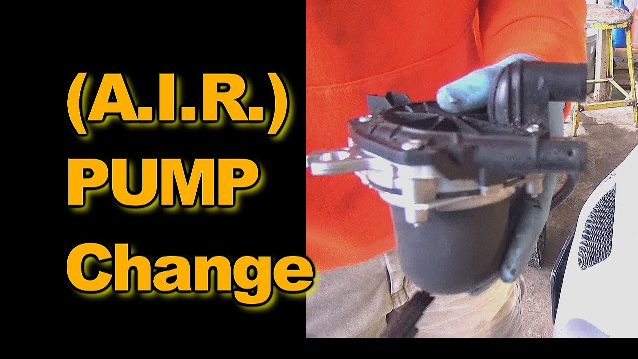 air injection reaction pump replacement 2006 pontiac grand