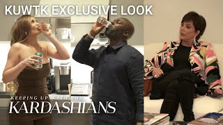 Kylie & Corey Take Shots and Toast to Kris...Who's Losing Her Patience | KUWTK Exclusive Look | E!