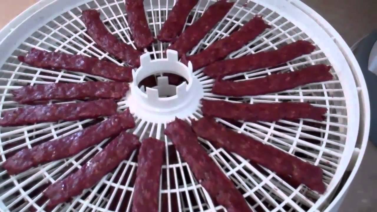 How To Make Beef Jerky With The Nesco Dehydrator Part 2 Youtube